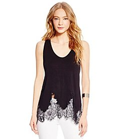 Jessica Simpson Bryanna Embroidered Tank