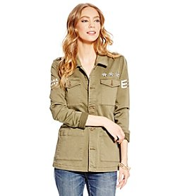 Jessica Simpson Officer Utility Jacket