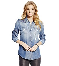 Jessica Simpson Pixie Classic Denim Shirt