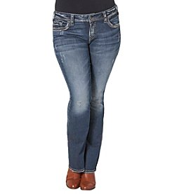 Silver Jeans Co. Plus Size Suki Mid Bootcut Jeans