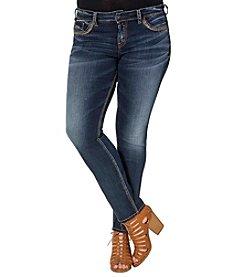 Silver Jeans Co. Plus Size Suki Mid Rise Jeans