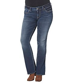 Silver Jeans Co. Plus Size Suki Mid Rise Bootcut Jeans