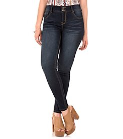 Wallflower® Curvy Push Up Skinny Jeans