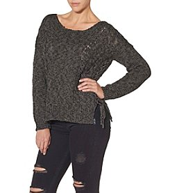 Silver Jeans Co. Lace-Up Sweater