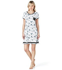 Layla® Printed Nightgown