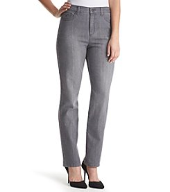 Gloria Vanderbilt® Amanda Embroidered Pocket Straight Leg Jeans