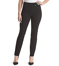 Gloria Vanderbilt® Avery Pull-On Straight Leg Jeans