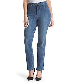 Gloria Vanderbilt Amanda Straight Leg Jeans