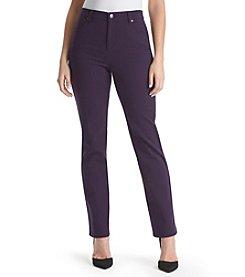 Gloria Vanderbilt® Amanda Colored Straight Leg Denim Jeans