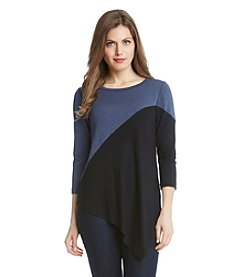 Karen Kane® Color Block Angle Top