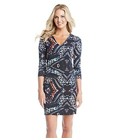 Karen Kane® Abstract Sheath Dress