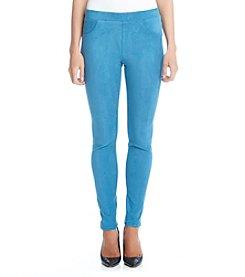 Karen Kane® Faux Suede Skinny Pants