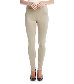 Karen Kane® Faux Sueded Pants