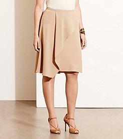 Lauren Ralph Lauren&Reg; Plus Size Crepe A-Line Skirt