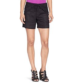 Lauren Jeans Co.® Linen Drawstring Shorts