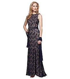 Alex Evenings® Long Lace Dress
