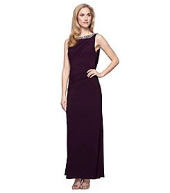 Alex Evenings® Long Sleeveless Empire Waist Dress