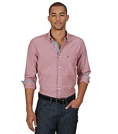 Nautica® Men's Long Sleeve Oxford Button Down Shirt