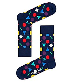 Happy Socks® Men's Shapes Dress Socks