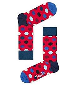 Happy Socks® Men's Big Dot Dress Socks