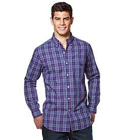 Chaps® Men's Long Sleeve Plaid Button Down Shirt