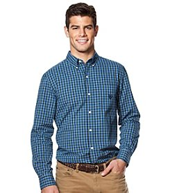 Chaps® Men's Long Sleeve Solid Easy-Care Woven Button Down Shirt