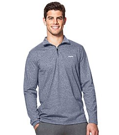 Chaps® Men's Long Sleeve Sport Quarter Zip Pullover