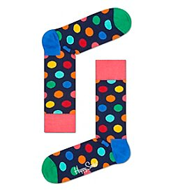 Happy Socks® Men's Navy Dot Dress Socks