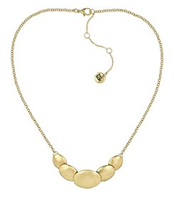 The Sak® Goldtone Overlap Frontal Necklace