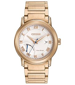 Citizen® Men's Eco-Drive Power Reserve Goldtone Watch
