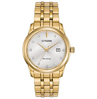 Citizen® Men's Eco-Drive Watch with Diamond Accents