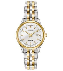 Citizen® Women's Two Tone Eco-Drive Silhouette Sport Watch