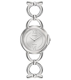 Citizen® Women's Eco-Drive Jolie Silvertone Watch