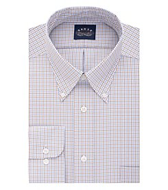 Eagle® Men's Long Sleeve Checked Dress Shirt