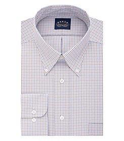 Eagle® Men's Long Sleeve Checked Dress Shirt