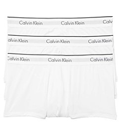 Calvin Klein Men's 3-Pack Microfiber Stretch Trunks
