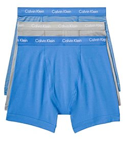 Calvin Klein Men's 3-Pack Boxer Briefs