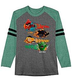 Angry Birds® Boys' 8-20 Long Sleeve Angry Birds Raglan Tee