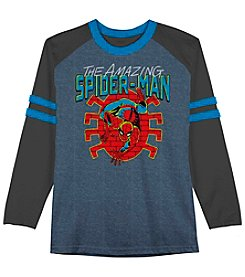 Marvel® Boys' 8-20 Long Sleeve The Amazing Spider-Man® Raglan Tee