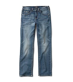 Silver Jeans Co. Boys' 8-16 Benny Straight Leg Jeans