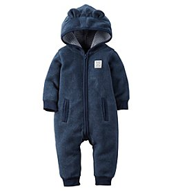 Carter's® Baby Boys Hooded Jumpsuit