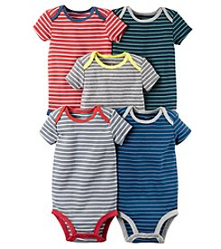Carter's® Baby Boys 5-Pack Striped Bodysuits