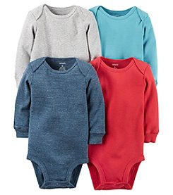 Carter's® Baby Boys 4-Pack Long Sleeve Bodysuits