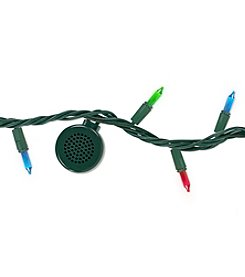 Bright Tunes Indoor/Outdoor Multi Colored Incandescent String Lights With Bluetooth Speakers