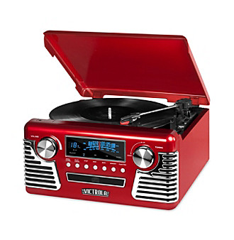 Victrola Retro Record Player Stereo With Bluetooth And USB D