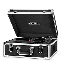 Victrola® Suitcase Record Player With CD Player And Bluetooth
