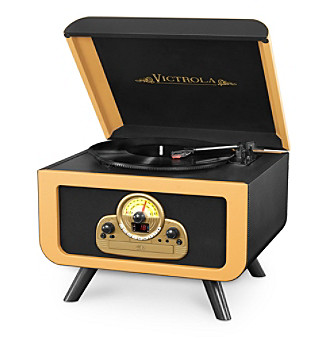 Victrola® 5-In-1 Vintage Record Player With Bluetooth An