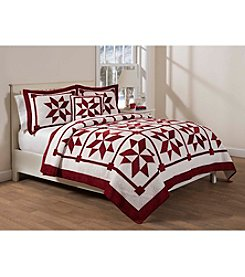 LivingQuarters Merry And Bright Quilt Collection