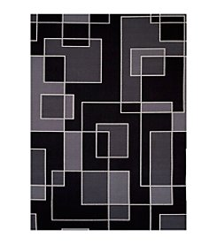 United Weavers Encore Collection Blocked Out Hombre Rug