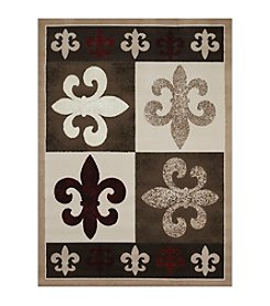 United Weavers China Garden Collection French Quarter Runner